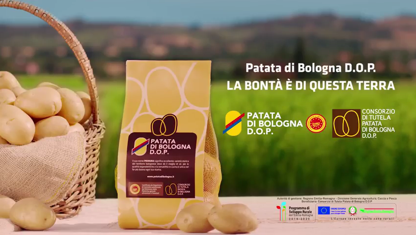 PATATA DI BOLOGNA DOP, ON AIR CON LO SPOT TV